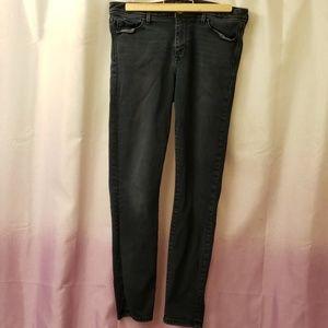Dark blue banana republic skinny jeans size 30